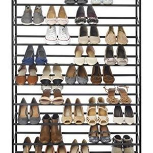 Shoes - 樂Rolling shoe rack holds 50 pairs